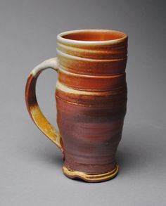 Stoneware Mugs, Ceramic Cups, Pottery Mugs, Pottery Ideas, Traditional Mugs, Clay Mugs, Tea Bowls, Ceramic Artists, Clay Creations