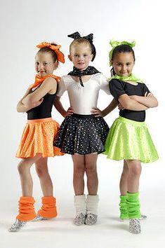 Costumes Funky Rock N Roll Skirt Set Dance Costume 3 Kid Sizes Kids 50s Costume, Dance Costumes Kids, Disco Costume, Girl Costumes, Halloween Costumes For Kids, 1950s Costumes, Rock And Roll Dance, Rock N Roll, Disfraces Rock And Roll