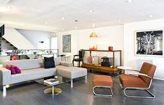 Berkley Sofa by Nienkamper and Lounge Chair by Thonet