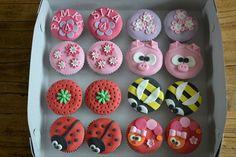cupcakes voor 4e verjaardag