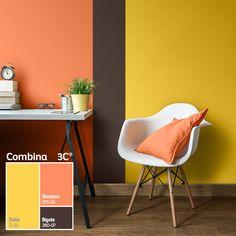 Los colores cálidos crearán un ambiente íntimo que hará resaltar los objetos de tu hogar.