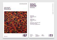 Exhibition flyer Exhibit, Flyer Design, Typo, New Art, Catalog, Salt, Layout, Magazine, Mood