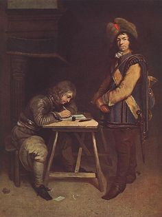 File:Gerard ter Borch (II) - Officer Writing a Letter - WGA22151.jpg - Wikimedia Commons commons.wikimedia.org637 × 852Buscar por imagen File:Gerard ter Borch (II) - Officer Writing a Letter - WGA22151.jpg  gonzalo conradi pintor - Buscar con Google