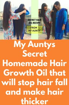 My Auntys Secret Homemade Hair Growth Oil that will stop hair fall and make hair thicker Believe me girls, if you really want a healthy. long and thicker hair, you have to take care of your hair and today in this post I will share recipe to prepare homemade oil that is full of nutritions required for healthy hair and at the same time will fight against all infections if you …