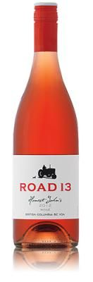 "$14.79 (-1) Road 13 Honest John's B.C.  A blend of Gamay Noir with a bit of Pinot Noir, the red berry notes are very flavourful and lingering. Crisp acidity makes this a sipper and a great pairing with grilled peppers or garlicky chicken A good wine friend told me once that rose is the perfect wine for food. ""It goes with everything."". I've served it to friends who are over for a visit but if you find it tough to match food grab a bottle of this rose and you won't be disappointed."