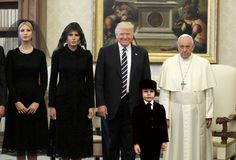 Trump – s Awkward Photo with Pope Francis Becomes a Horror Movie Meme #photoshop #contest, #president #trump, #donald #trump, #pope #francis, #photoshop, #ivanka #trump, #melania #trump, #gizmodo http://uk.remmont.com/trump-s-awkward-photo-with-pope-francis-becomes-a-horror-movie-meme-photoshop-contest-president-trump-donald-trump-pope-francis-photoshop-ivanka-trump-melania-trump-gizmodo/  # Photoshopped image that adds Damien from the 1976 horror film The Omen to a photo with President…