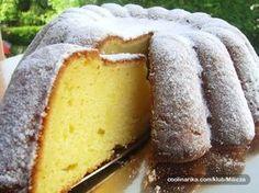 Kek me limon - Receta + Fotografi Milk Recipes, Gourmet Recipes, Sweet Recipes, Cookie Recipes, 3d Cakes, Cupcake Cakes, Kolachi Recipe, Eastern European Recipes, Croatian Recipes