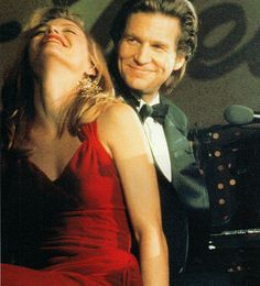 Michelle Pfeiffer & Jeff Bridges in The Fabulous Baker Boys.  Jeff is so handsome in this movie.