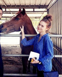 Holland Roden visits the @thegentlebarn