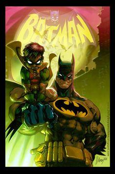 Batman & Robin by JJ Kirby