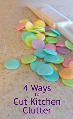 4 Ways to Cut Kitchen Clutter http://www.anchoragehousesales.com/miarticles/articleid/212/