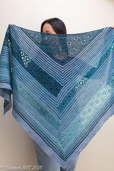 Ravelry: High Sierra Shawl pattern by Rosemary (Romi) Hill