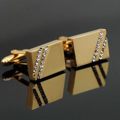 Luxusné manžetové gombíky značky JASON & VOGUE z chirurgickej ocele