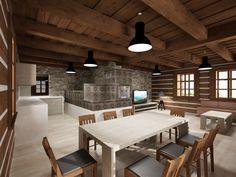 CHALUPA ALBRECHTICE ROOM 3D DESIGN 3d Design, Conference Room, Interior, Table, Furniture, Home Decor, Decoration Home, Indoor, Room Decor