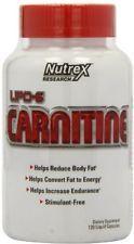 Nutrex Lipo 6 Carnitine Liquid Capsules 120 Count