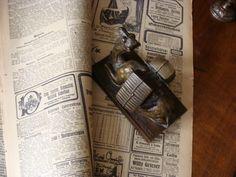 Bronze Jugendstil F.Gornik Wien Briefbeschwerer Kamel Ägypten Andenken Werbung