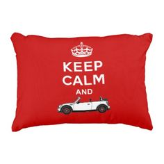 Keep Calm Convertible Accent Pillow - keep calm quote meme classic custom