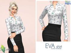 The Sims Resource: Social blouse by LYLLYAN