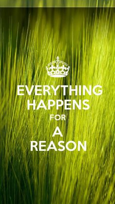 #Everything #Happens for a #Reason - #KEEP #CALM generator for #iOS7