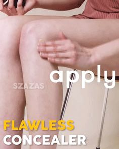 Flawless Body Concealer – Geniwo Perfect Legs, Im Not Perfect, Beauty Tips, Beauty Hacks, Body Foundation, Body Makeup, Even Skin Tone, Summer Body, Nice Body