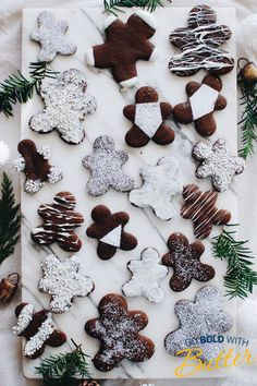 'Tis the season for gingerbread cutouts! This classic cookie adds sugar and spice to any holiday party table. Holiday Cookie Recipes, Holiday Cookies, Gingerbread Man, Gingerbread Cookies, Christmas Desserts, Cozy Christmas, Christmas Goodies, Christmas Recipes, Christmas Holidays