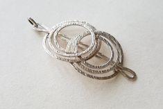 Elis Kauppi, Vintage spiral pendant, Kupittaan Kulta, Finland, c1970 (F1367) Ring Necklace, Earrings, Open Ring, Pendant Design, Finland, Hair Pins, Spiral, Heart Ring, Silver Rings