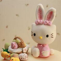 Atelier Sucrème: Mona de Pascua de Hello Kitty