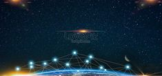 Blue starry earth rhombus light banner Technology,science fiction,electronics,virtual,reality,smart technology,intelligence,future,science and technology,science,cool,network