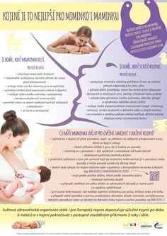 Mateřské mléko je ideální stravou pro miminko, kojení je ale prospěšné i pro maminku. Oběma přináší okamžité i dlouhodobé zdravotní výhody a posiluje jejich vzájemný vztah. Tato fakta i jejich důsledky si připomínáme u příležitosti právě probíhajícího Světového týdne kojení (1.–7. 8. 2016).