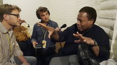 KUSP Interview w/ Wayne Shorter. By Jeff Dayton-Johnson & Nick Fountain. 56th Annual Monterey Jazz Festival. Photo: © Stephen Laufer / KUSP.