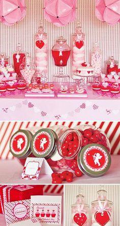 Valentine's Day Candy Bar.  <3