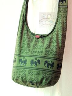 SMALL SIZE Hobo Boho Hippie Vegan Girls Crossbody by TipBoutique