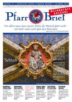 Pfarrbrief St. Martin Wegberg im Dezember 2013. Der Schluss-Stein. Mehr Info: http://homepage.sanktmartinwegberg.de/?page_id=35