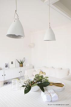 bonnesoeurs decoration paradis blanc 07 suspension porcelaine cornette tse tse