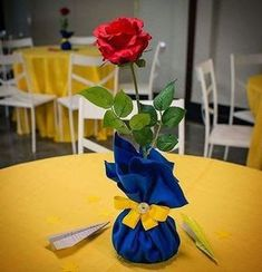 Beauty and the Beast is the perfect tale to tell everyone that physical looks of. - Beauty and the beast party - Beauty And Beast Birthday, Beauty And The Beast Theme, Beauty And Beast Wedding, Beauty Beast, Party Centerpieces, Birthday Party Decorations, 1st Birthday Parties, Party Themes, Princess Birthday Centerpieces
