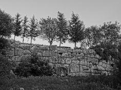 roman walls in datça