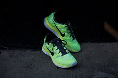 NIKE Flyknit Lunar 1 - Volt / Black | Sneaker | Kith NYC