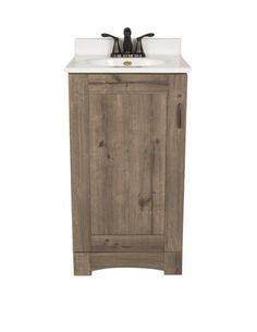 Picture Collection Website allen roth Moravia Sable Undermount Single Sink Bathroom Vanity with Engineered Stone Top Common