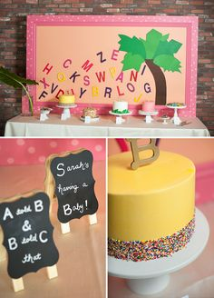 Playful Chicka Chicka Boom Boom Book Baby Shower