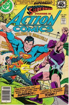 Action Comics 495  May 1979  DC Comics  Grade Fine