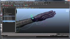 Creating a Character Rig - Part 28: Basic hand joints
