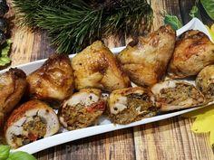 Świąteczne udka Tortellini, Chicken Wings, Shrimp, Chicken Recipes, Turkey, Dishes, Meat, Food, Turkey Country