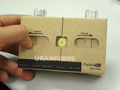 DIY PAPER PINHOLE CAMERA KIT ONLINE INSTRUCTION