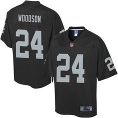 Pro Line Mens Oakland Raiders Charles Woodson Big & Tall Team Color Jersey