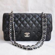 Chanel 2.55 Series Caviar Flap Bag