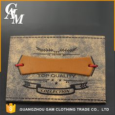 Source specious designed clothing brand leather label ,jeans leather patch on m.alibaba.com Garra, Apron Designs, Leather Label, This Is Us Quotes, Embossed Logo, Club Dresses, Jeans, Badge, Patches