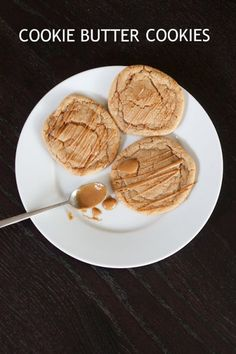 Cookie butter cookies. Definitely a keeper. @Jamielyn {iheartnaptime.net}