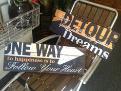 Awesome New Signs!  Come check them out!