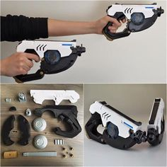 Simone Fontana releases 22-piece 3D printed Tracer Gun from Overwatch