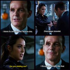 Agents of SHIELD Skye and Coulson
